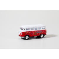 """Autíčko """"Hippie Bus"""" červené"""