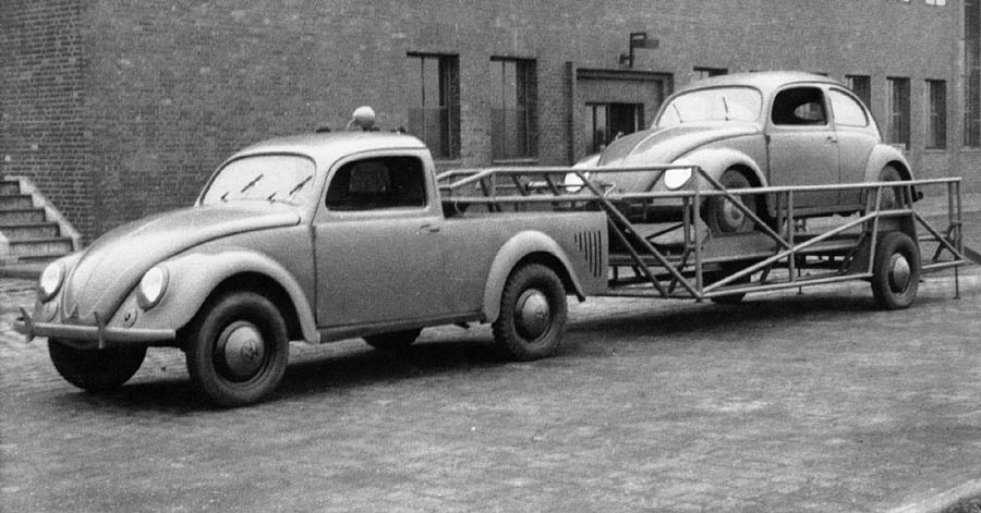 VW Beetle Pickup 1946