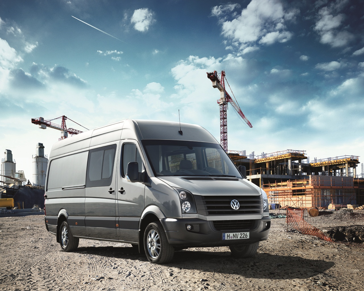 Volkswagen Crafter Wallpapers HD
