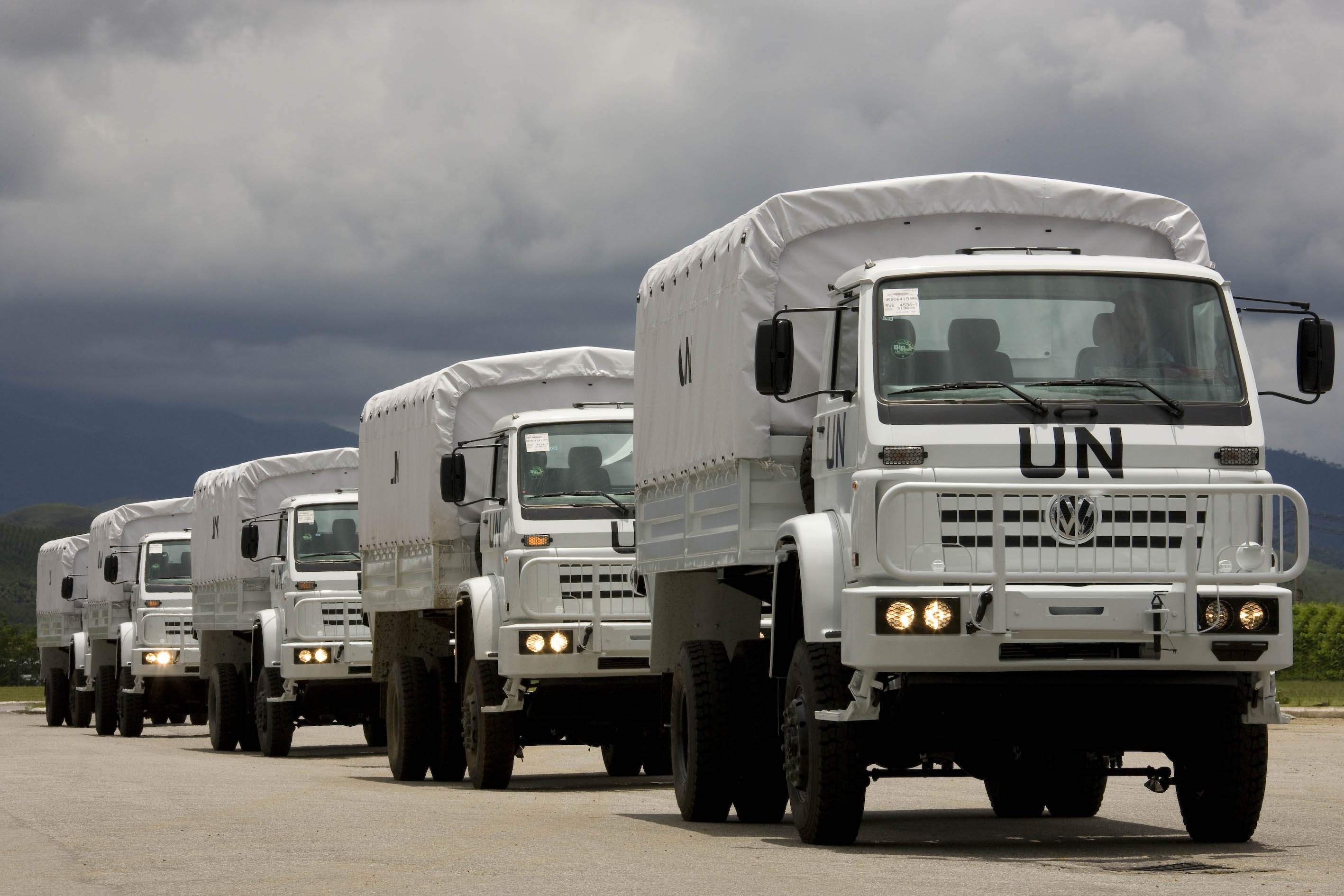 brazil VW UNB trucks