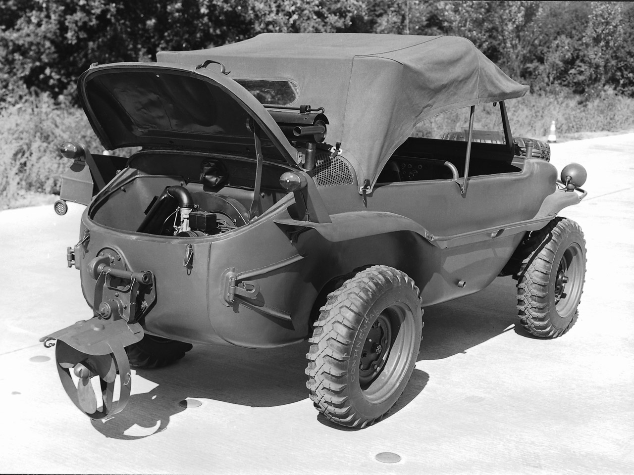 VW Water Vehicle Type 166