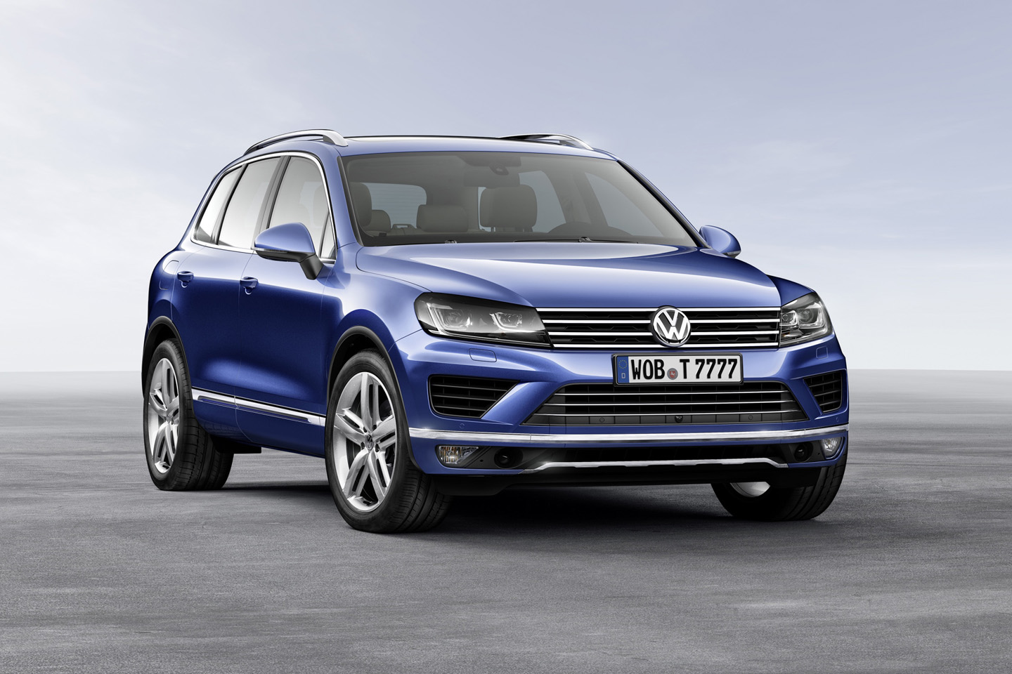 VW Touareg II facelift 2014