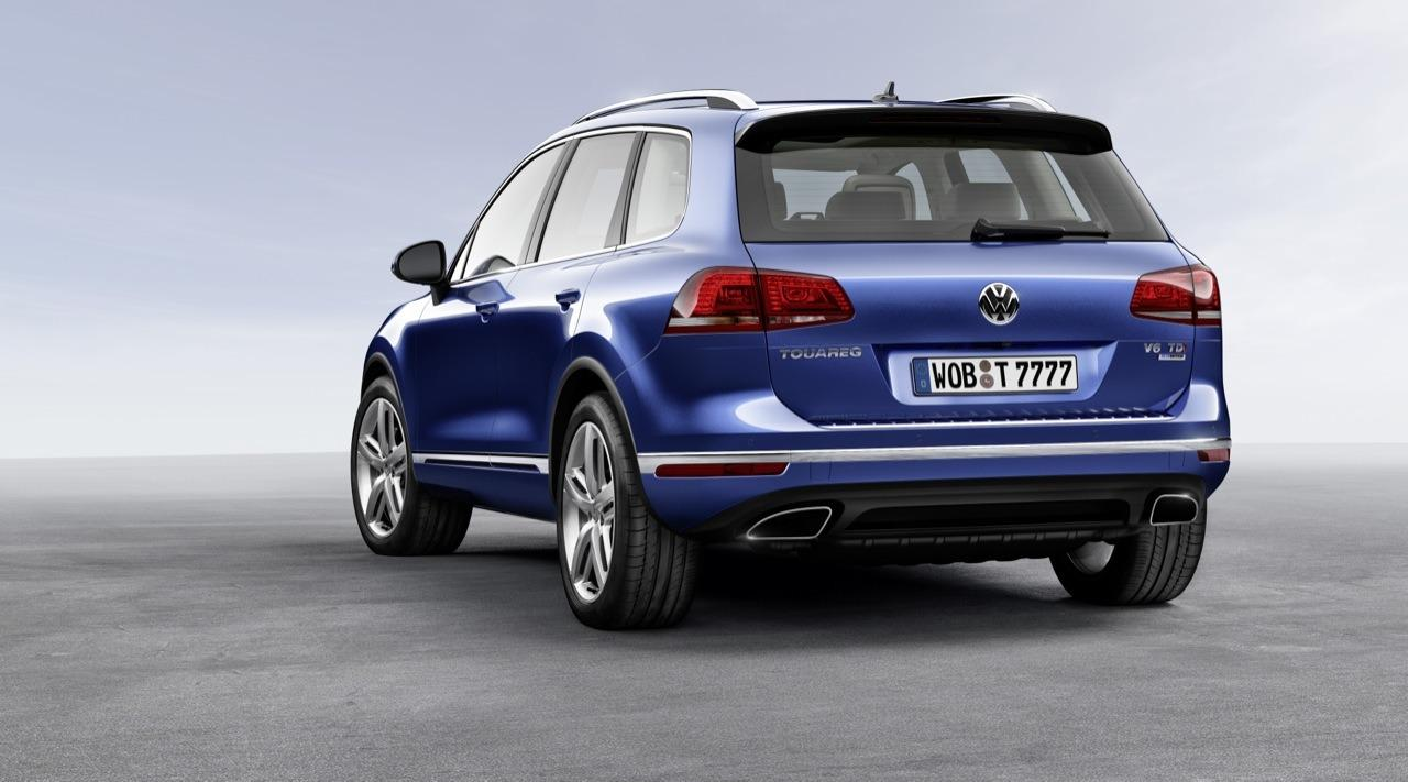 VW Touareg II facelift 2014 2
