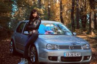vw golf forest tuning girl