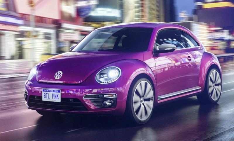 Beetle Pink Color Edition